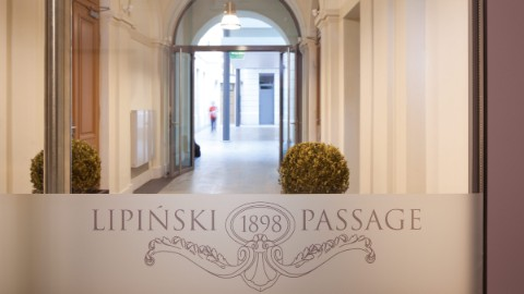 The entrance of the Lipinski Passage